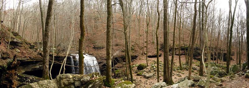 Big Laurel Valley, Virgin Falls, White Co, TN