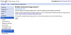 Google Webmaster Tools - Turn On Image Labeling | by alvesfamily