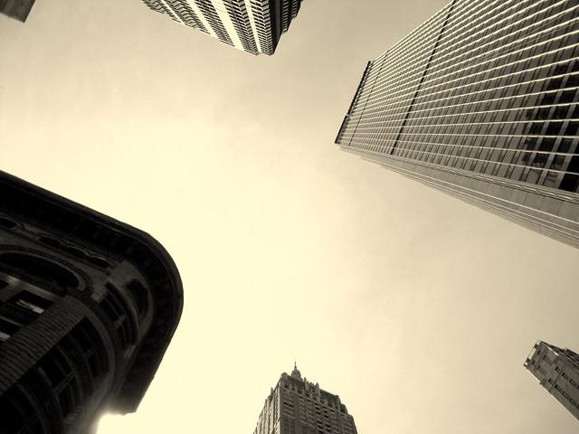 Rascacielos que casi se tocan (New York)
