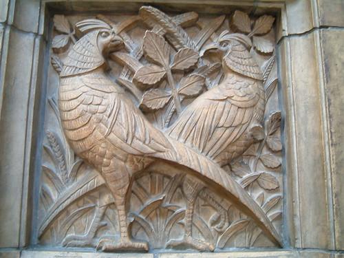 Pheasants In Relief | by Kaptain Kobold