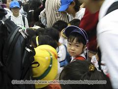 Criancas no metro