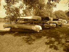 Canoes Round Isles 2274