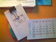Hipster PDA calendar 1