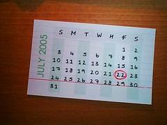 Hipster PDA calendar 2