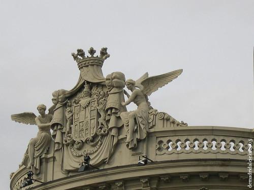 Cornisa de la Casa de América, Madrid
