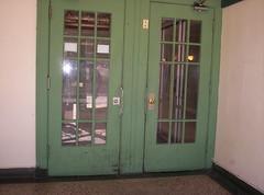 Broadmoor portal door