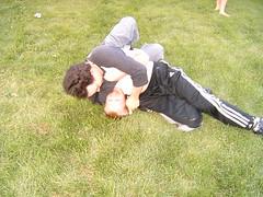 Greg and Chris Wrestling2