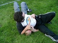 Greg and Chris wrestling3
