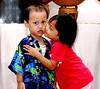 Afif Naya Kiss