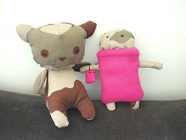 Alice et Kisskamoufle