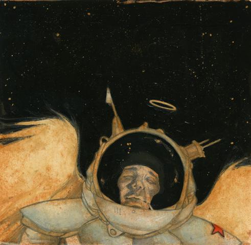 cosmonaut. finish