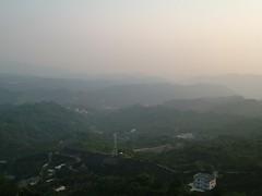 最高點的景色