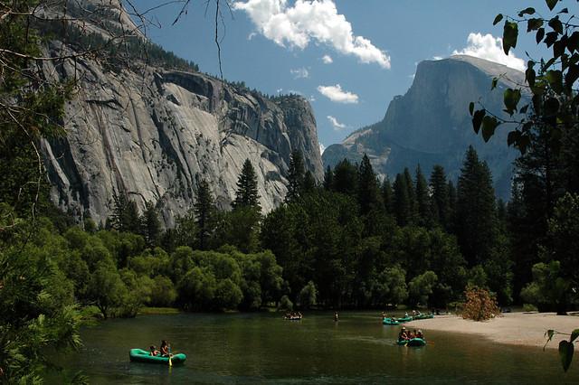 Along the Merced River at Yosemite