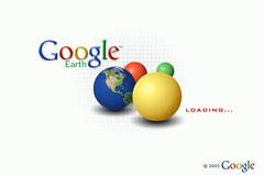 Google Earth NEW Startup logo