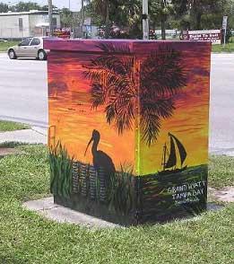 Traffic Signal Box, Tampa