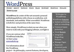WordPress 网站主页