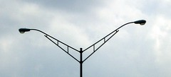 Evil Ohio lamppost