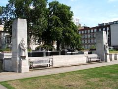 Trinity Sq Garden memorial