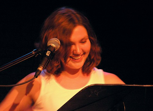Blind Cavefish: Jess, Smiling
