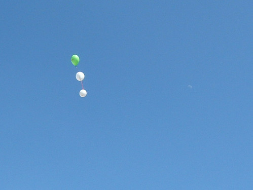 Balloons and the Moon