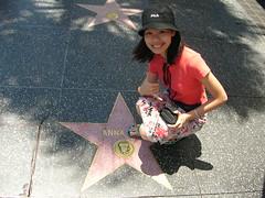 Hollywood Sidewalk Stars - Anna's Star