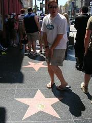 Hollywood Sidewalk Stars - Marlyn Monroe and me