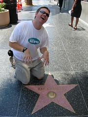 Hollywood Sidewalk Stars - Ray Charles