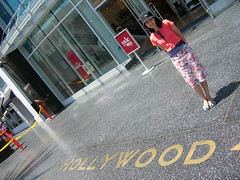 Hollywood Sidewalk and Anna
