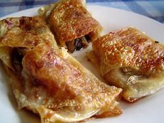 tofu crepe rolls