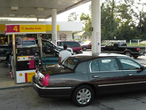 Gas station mayhem