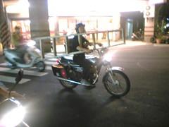 ladder fire bike