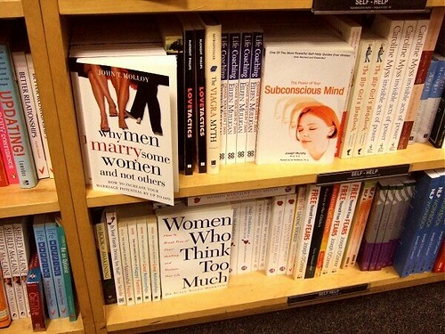 "How come most ""self-help"" books are aimed at women? 