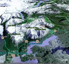 Paine GPS trace 3d