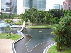 The KLCC Lagoon