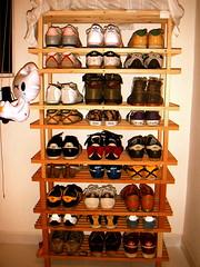Sneakers Rack