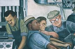 Detroit Industry fresco (detail)