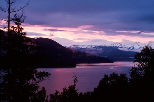 nakusp kootenays lake sunset beauty
