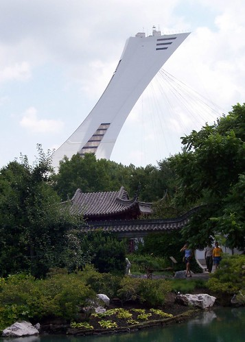 Montreal Tower - from Jardin Botanique | by paulsisler