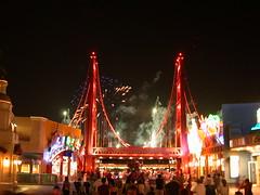 Disney Landの花火