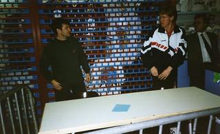 Ray Houghton and Steve Staunton