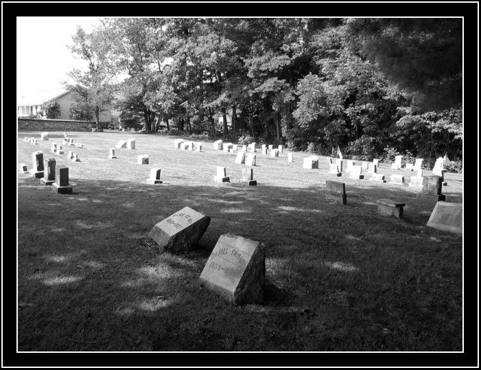 Quaker Meeting House graveyard