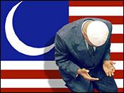 American-Islam flag