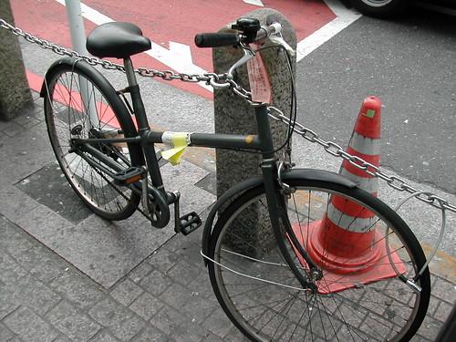 Common Bike In Japan