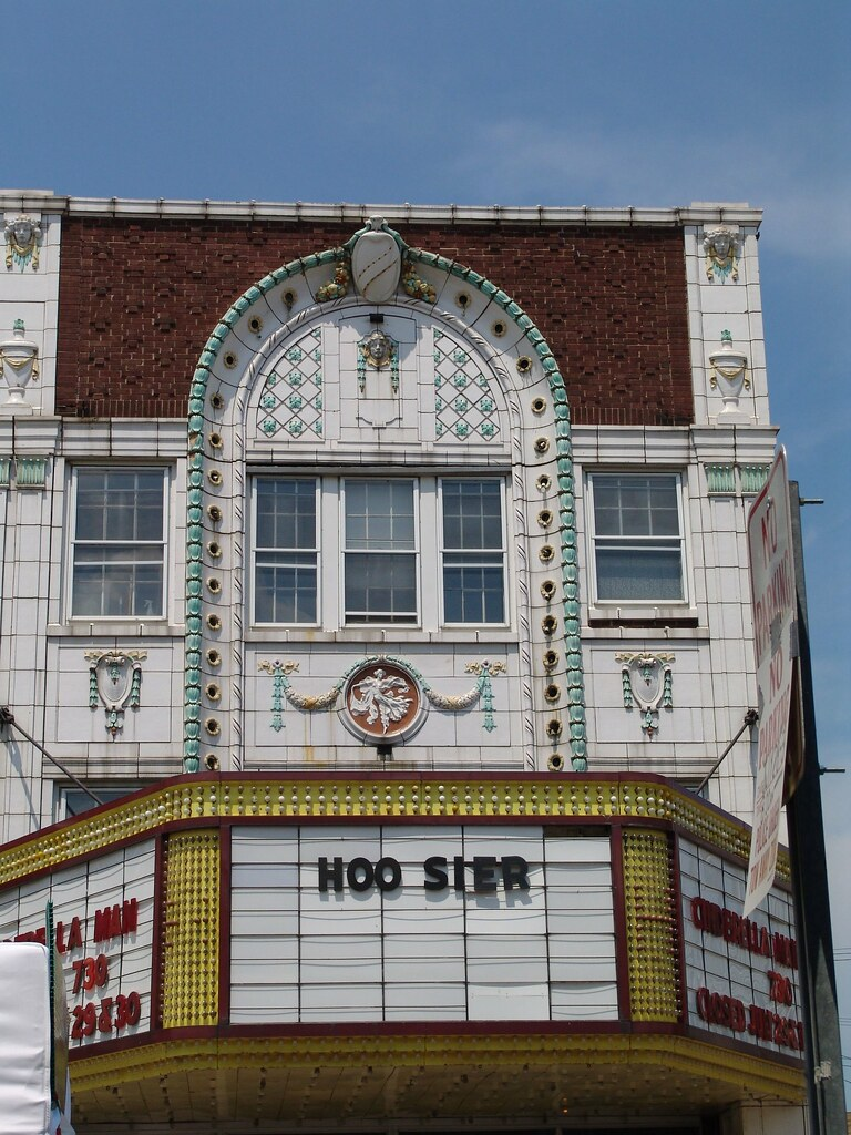 Hoosier Theater In Whiting In Pix From The Field Flickr