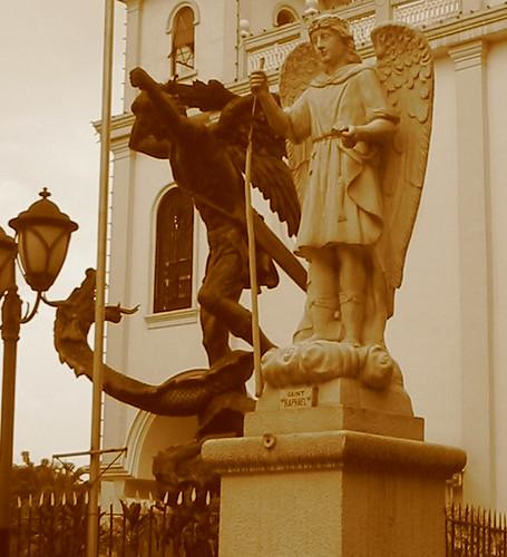 San Miguel Statue