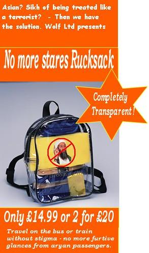No More Stares Rucksack