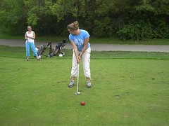 Me Golfing for the first time