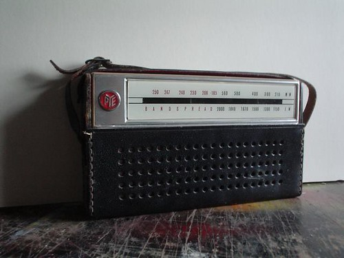 Radio in case