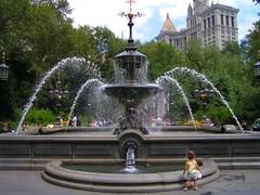 Fountain   by capnsponge