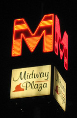 midway plaza sign